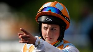 Which jockey was barred from riding in the Derby in 2017?
